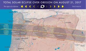 Total Solar Eclipse at Willamette Valley Vineyards
